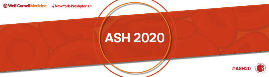 2020 American Society of Hematology (ASH) AnnualMeeting